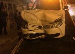 Acidente no Borgo envolve três veículos em Bento