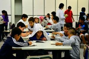 São Paulo - A EMEF Presidente Campos Salles, localizada em Higienópolis, é considerada um exemplo de integração Escola-Comunidade (Rovena Rosa/Agência Brasil)