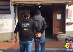 Foragido é preso no bairro Pomarosa em bento