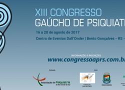 Bento recebe a partir do dia 16 o XIII Congresso Gaúcho de Psiquiatria