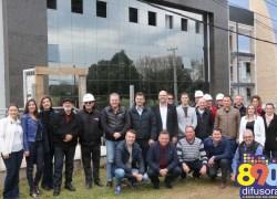 CIC-BG, Movergs e Sindmóveis promovem visita oficial às obras da nova sede