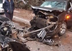 Acidente com veículo de Bento em Casca na ERS-324 deixa casal e bebê feridos