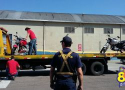 DMT notifica condutores e recolhem veículos durante fiscalização em Bento