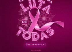 Ações do Outubro Rosa conscientizam na luta contra o câncer de mama em Bento
