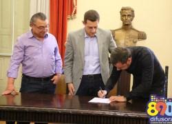 Pasin nomeia Rodrigo Parisotto como novo Secretário de Turismo em Bento