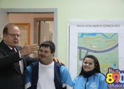 Apresentado projeto de nova sede da Apae de Bento, no bairro Imigrante