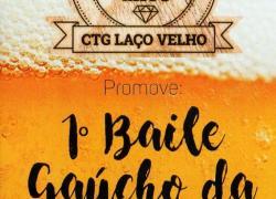 Faltam 8 dias para o 1º Baile Gaúcho da Cerveja
