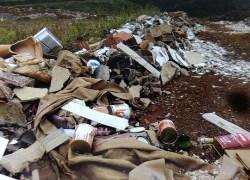 Arpa atende cinco denúncias de crime ambiental na Linha Pedro Salgado em Bento