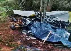 Duas pessoas morrem em queda de aeronave na cidade de Barão