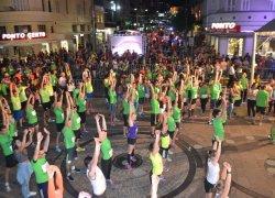 Sparkling Night Run firma parceria com a CNEC e faz ação de engajamento em academias