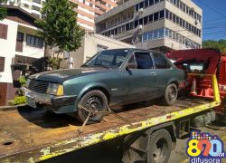 Veículo furtado em Bento é localizado pela Brigada na Linha Sertorina