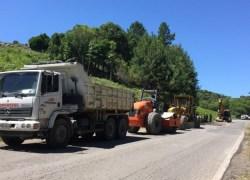 Iniciadas obras de restauração da ERS-448 na Serra