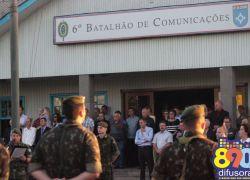 6º BCOM comemora 42 anos em Bento