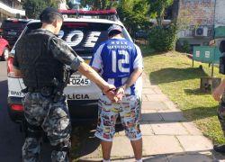 Foragido da Comarca de Santa Cruz é recapturado em Bento Gonçalves