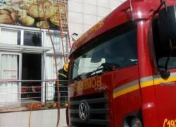 Bombeiros controlam princípio de incêndio em padaria no São Roque em Bento