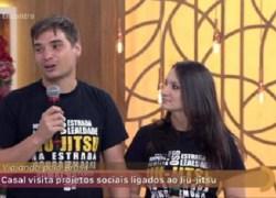 Casal de Bento Gonçalves viaja pelo Brasil mostrando projetos sociais de Jiu-Jitsu