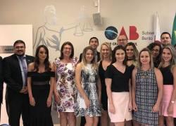 OAB de Bento entrega credenciais profissionais