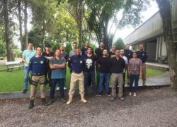 PRF realiza reunião com efetivo em Bento Gonçalves