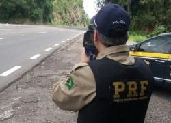 PRF registra mais de 450 infrações na Operação de Carnaval da BR-470