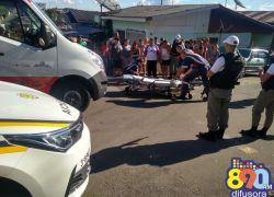 Homem é ferido a tiros no Conceição em Bento