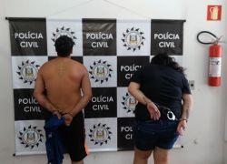 Casal é preso por tráfico de drogas no São José em Farroupilha