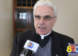Bispo Dom Alessandro Ruffinoni participará de painel em Carlos Barbosa