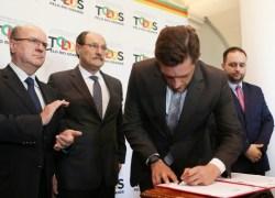Assinado contrato de permuta entre Estado e Município para construção do novo Presídio de Bento