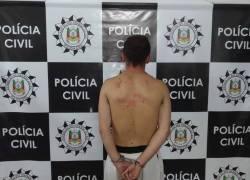 Suspeito de estupro de duas jovens é preso em Farroupilha