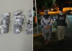 Brigada Militar efetua prisão por posse de entorpecente em Bento