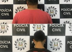 Defrec de Caxias prende dupla e apreende adolescente por crimes contra o patrimônio