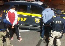 Em ação preventiva, dupla armada é presa pela PRF em Ônibus de Caxias para São Marcos