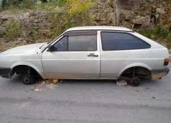 Veículo roubado é recuperado em Bento