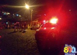 Jovem é morto com vários disparos de arma de fogo no Ouro Verde em Bento