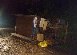 Acidente com carreta agrícola deixa mulher ferida no interior de Bento