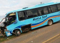 PRF atende acidente de trânsito com lesões em Vacaria