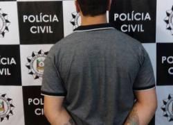 DEFREC de Caxias do Sul prende foragido investigado por roubo de veículo