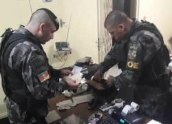 Brigada Militar prende nove envolvidos no jogo do bicho em Canela