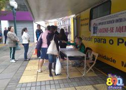 Campanha de Vacinação contra a gripe atinge 70% da meta em Bento