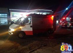 Colisão de motocicletas deixa duas pessoas feridas no Licorsul em Bento