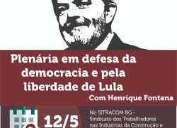 Fontana reforça campanha pela libertação de Lula na Serra Gaúcha