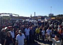 6º dia da manifestações do setor de transportes ainda atinge rodovias da Serra