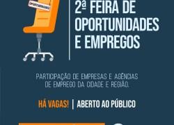FTEC realiza Feira de Oportunidades de Empregos em Bento