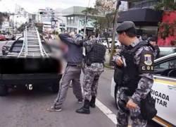Procurado da Justiça é preso após ser reconhecido por PM de folga em Caxias