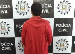 Homem é preso suspeito de roubos em Farroupilha