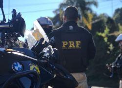 PRF autuou mais de 300 motoristas na BR 470 no final de semana