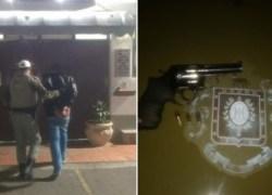 Brigada Militar prende homem com arma furtada em Monte Belo