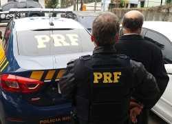 PRF prende em Carlos Barbosa foragido com mandado de prisão por homicídio