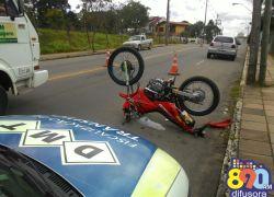 Veículos irregulares são removidos em blitz de trânsito realizada em Bento