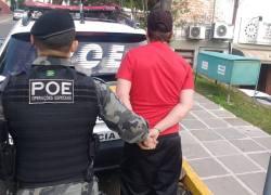 POE captura foragido da justiça no Municipal em Bento
