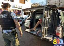 Jovem é preso por tráfico em Bento